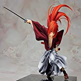 ZXXYTA Rurouni Kenshin Verdugo Dibujar Espada Sai Himura Kenshin 1/7 Mano en Caja
