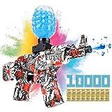 Gel Ball Blaster Gun, NEOPAPA AK47 Electric Toy Foam Splatter Ball Blasters with 10000 Soft Bullet Water Beads, Toy Gun Pack for Adults, Backyard Shooting Game, Outdoor Fun Team Activities for Kids
