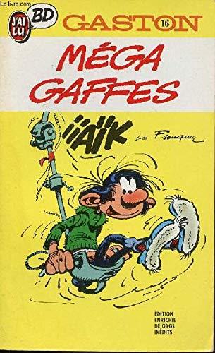 GASTON N°16 . MEGA GAFFES