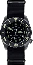 MWC dephtmaster 1000MT automático acero negro zafiro cerámica Fecha Militar Diver tela Nato Hombre Reloj