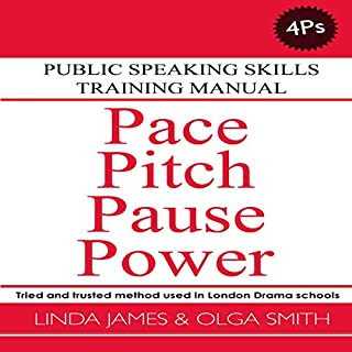 Pace, Pitch, Pause, Power: Public Speaking Skills Training Manual  audiobook cover art