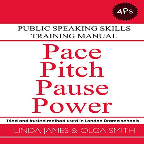 Pace, Pitch, Pause, Power: Public Speaking Skills Training Manual Titelbild