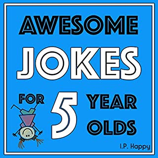 Awesome Jokes for 5 Year Olds audiobook cover art