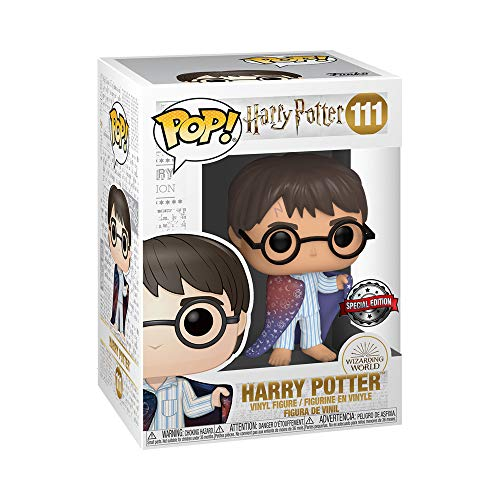 Funko POP! Harry Potter: Harry Potter con la capa de invisibilidad Exclusivo