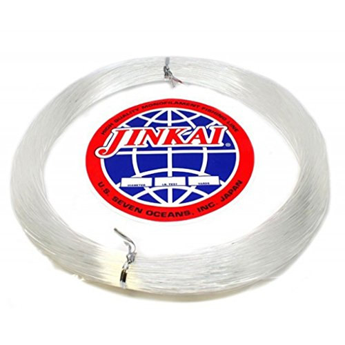 Jinkai Premium Monofilement Leader - 100yd Coil - 200lb Test - Crystal Clear (#200)