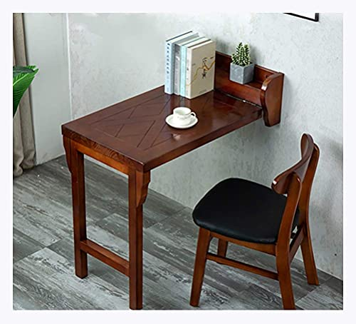 FFYN Folding Dining Table, Wood Wall Mounted Table, Easy Folding, Space Saving,...