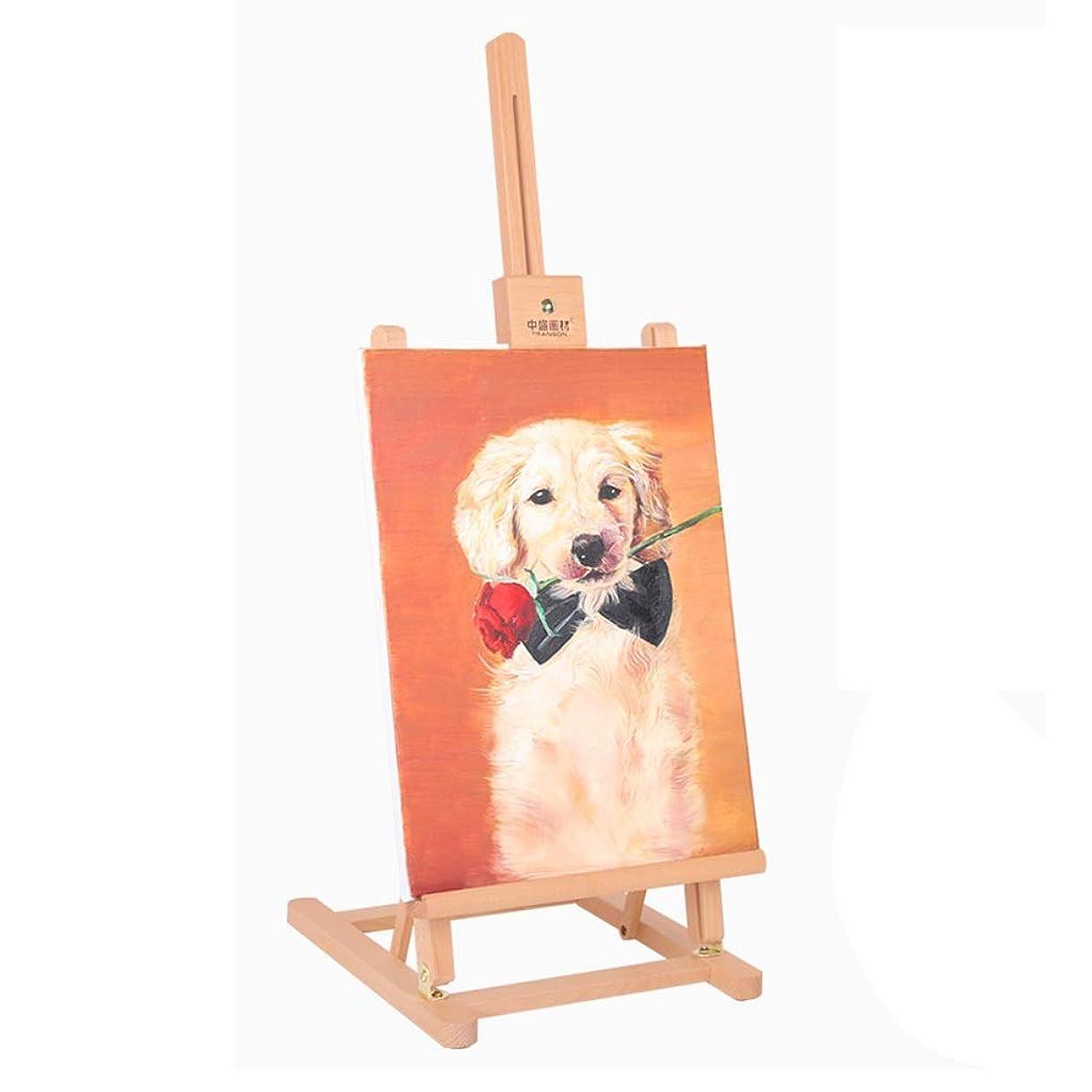 意図する標準人頑丈で丈夫 デッサン、水彩&アクリル画のためのポータブルブナ木材デッサン&ペイントボードミニアーティストテーブルトップスケッチデッサンアーティスト、。 (Color : Natural)