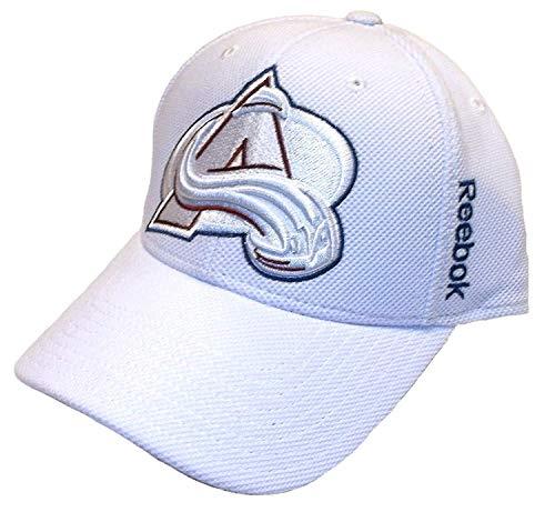 Reebok Colorado Avalanche Structured Flex Hat - XL/XXL - M559Z White