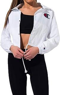 Champion Life Womens JL0334 Cropped Coaches Jacket Jacket