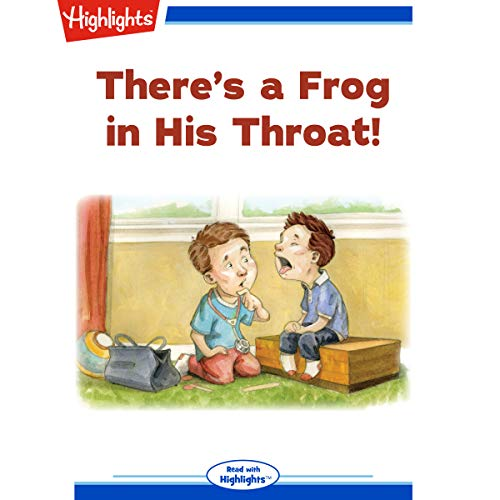 There's a Frog in His Throat copertina
