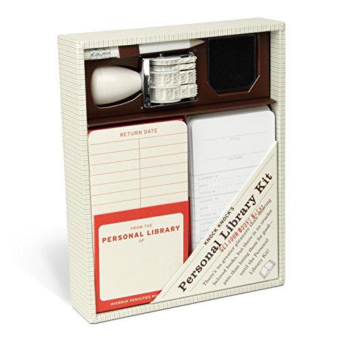 Knock Knock Original Personal Library Kit & Gift