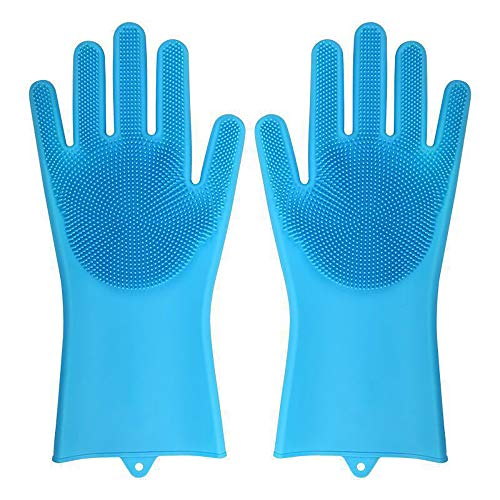 WANGLXST siliconen handschoenen van Keep It mobiele telefoon, afwashandschoenen, herbruikbare vaatwashandschoenen, huishoudelijke schoonmaakhandschoenen
