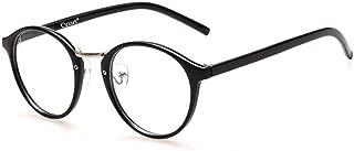 Cyxus Blue Light Filter Computer Glasses Blocking UV Anti Eye Strain Better Sleep Unisex Retro Round Eyewear