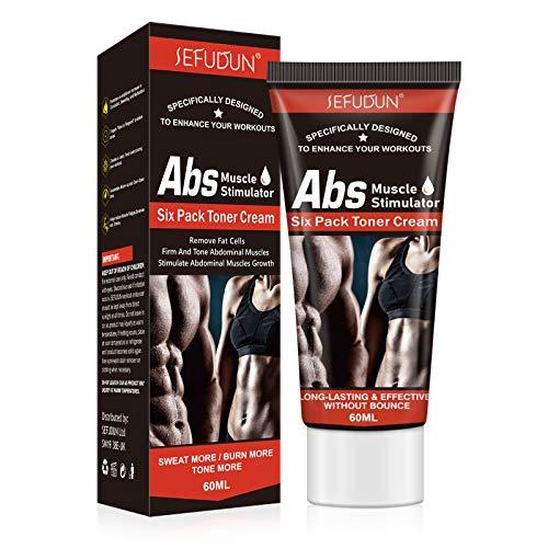 Heiße Creme, Abs Body Slim Creme für Mann Frau, Fettverbrennende Muskelbauch-Anti-Cellulite-Cremes, perfekte Zughüften und Bauch, straffende Muskelcreme, Formung der perfekten Größe