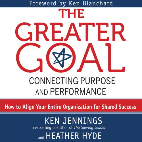 The Greater Goal audiobook cover art