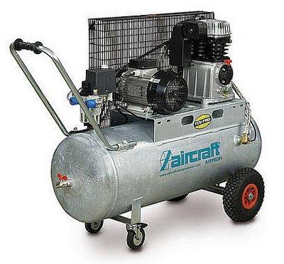 Aircraft - AIRPROFI 503/50 - Profi-Kompressor mit Zweizylinder-Hochleistungsaggregat