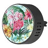 Eslifey Difusor de Aceite Esencial de Hueso con diseño de Hojas de Palmeras Tropicales Hawaianas, Hibisco, flamencos de orquídea, difusor de aceites Esenciales, Aroma a Fruta de la pasión