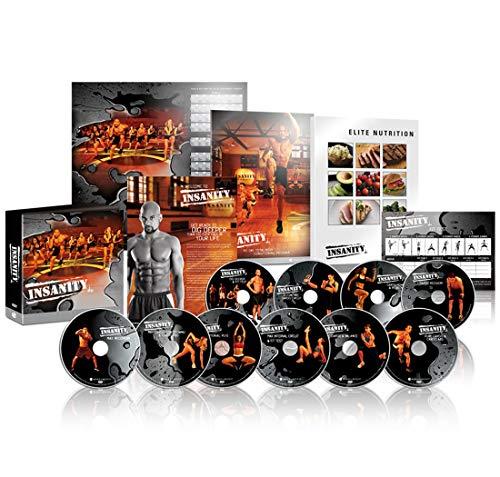 Shaun T 's Insanity 60 Days Basis-Set: Das ultimative Cardio-Training und Fitness, DVD Programm 10DVD Base Kit