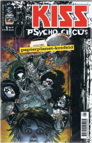 Kiss Psycho Circus 1, Infinity Image Comics, Comic-Heft