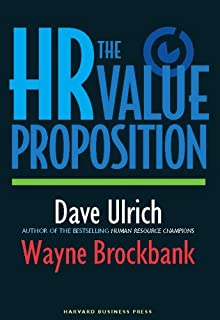 The HR Value Proposition (English Edition)