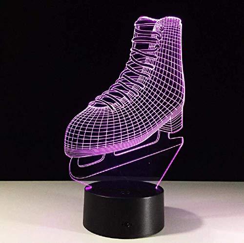 Lámpara Inalámbrica 3D Interruptor Táctil Accesorios De Iluminación 3D Armario Lámpara De Noche Movimiento Luz Nocturna Bebé