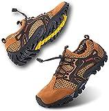 Rokiemen Zapatillas de Trekking para Hombres Sandalias Deportivas al Aire Libre Zapatos de...