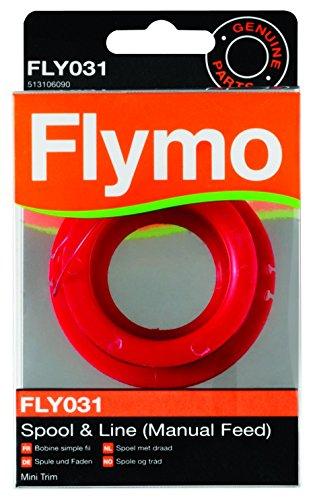 Flymo 513106090 Bobine de Fil fly031 ø1,5mm x 5 m pour Coupe-Bordures Mini Trim St