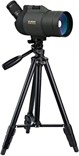SVBONY SV41 Spotting Scope Mak with Tripod Waterproof 25-75x70 Mini Compact for Shooting Birdwatching Travel for Both Terrestrial and Astronomical Use