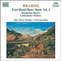 ブラームス:4手のためのピアノ作品集 2 (ハンガリー舞曲)