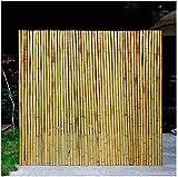 KANULAN Recinzione in bambù Schermo per la Privacy 100% Materiali Naturali Ombra Antivento Camera da Letto Recinzioni da Giardino Balconiparavento da Esterno