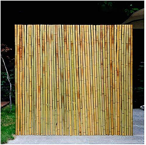 YZJL Valla de bambú Pantalla de privacidad Materiales 100% Naturales Sombra a Prueba de Viento Sala de jardín Cercas Balconesdecoracion Jardin