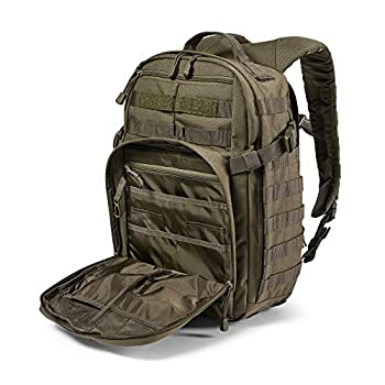 5.11 Tactical Backpack ? Rush 12 2.0 ? Military Molle Pack, CCW and Laptop Compartment, 24 Liter, Small, Style 56561 ? Ranger Green