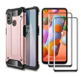 GOGME Case for OnePlus Nord N100 4G Case + 2 Screen