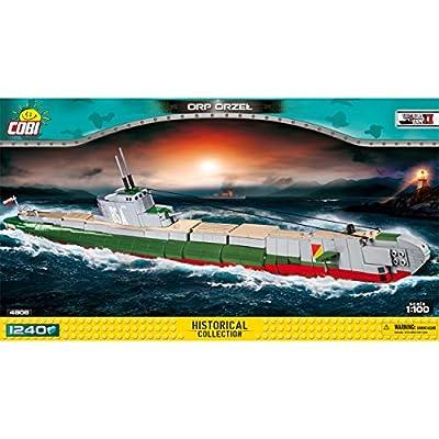 Cobi 4808 Polish Submarine ORP Orzel (Eagle) 1240 building bricks