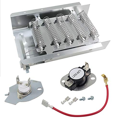 Dryer Heating Element 279838 & Fuse 279816 Replacement Fits Whirlpool Kenmore Roper