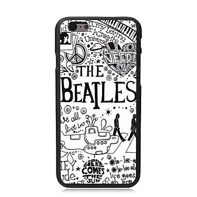 WMSHOPE iPhone 6 Case Cover PATTERN BEATLES