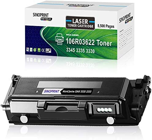 SINOPRINT Compatible Toner Cartridge Replacement for Xerox WorkCentre 3335 3345 Phaser 3330 product image