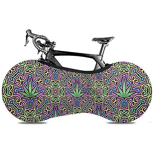 LisaArticles - Bolsa de almacenamiento para bicicleta, cubierta para bicicleta al aire libre, protección contra rayos UV, antipolvo, resistente al viento, excelente funda para bicicleta Cruiser de una sola velocidad