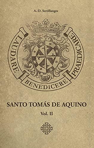 Santo Tomás de Aquino (Volume 2)