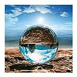OYZK Sfera di Cristallo, Vetro Ottico Sfere Riflettenti K9 Sfera di Cristallo Sfera della Sfera Sfera di Fotografia, Chiaro Contatto Palla di Giocoleria (Size : 50mm)
