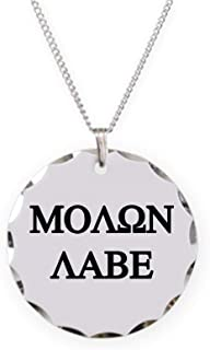 MOLON LABE Charm Necklace with Round Pendant