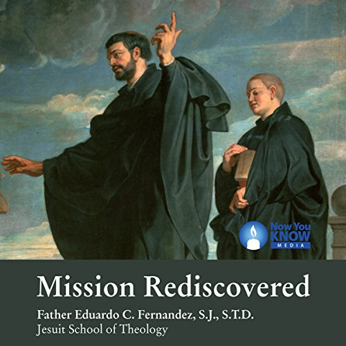 Mission Rediscovered audiobook cover art
