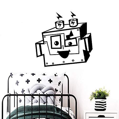 hetingyue Afneembare motief-muursticker, decoratie, woonkamer, slaapkamer, decoratie, afneembare muurschildering