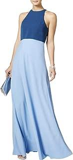 Jill Jill Stuart Womens Colorblock Flyaway Back Evening Dress