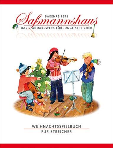 Weihnachtsspielbuch für Streicher -Mit Liedsätzen von Christoph Jähne-. Spielpartitur