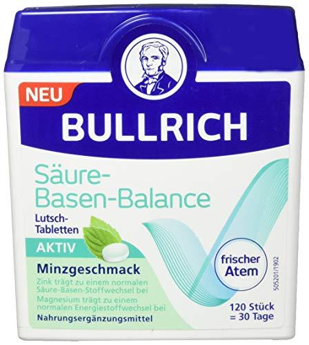 Bullrich Säure-Basen-Balance Lutsch Tabletten, 120 Tabletten