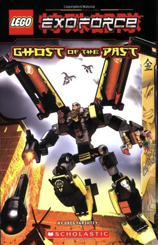 Ghost of the Past Chapter Book (Lego Exo-Force Junior Chapter Books)