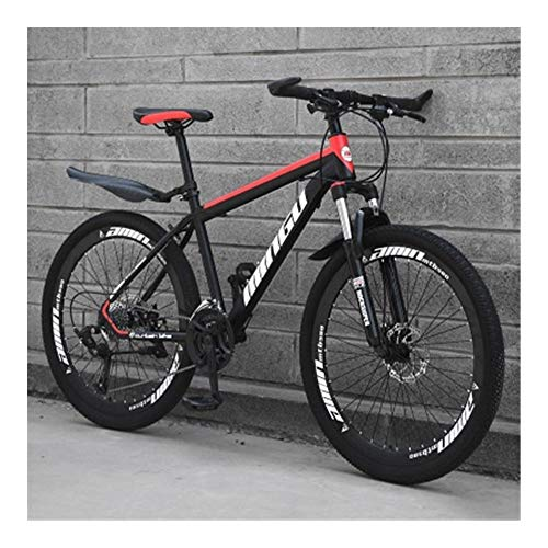 NoraHarry Flower 21/24/27/30 velocità off-Road Bike Student Road Racing Speed Bike Mountain Bike Love Sports (Color : Brown, Size : 27 Speed)