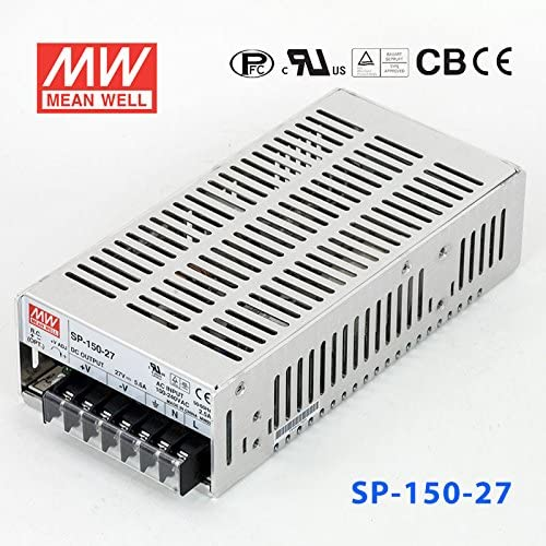 Meanwell SP-150-27 Power Supply - 150W 27V 5.6A - PFC