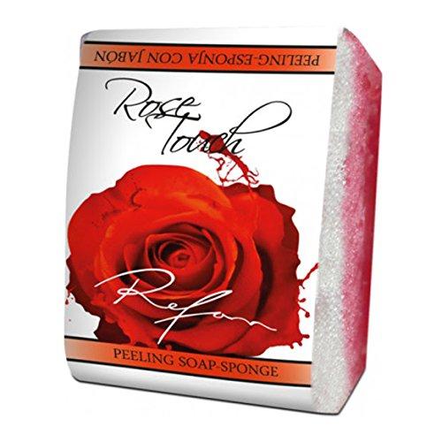 Savon éponge peeling rose Touch